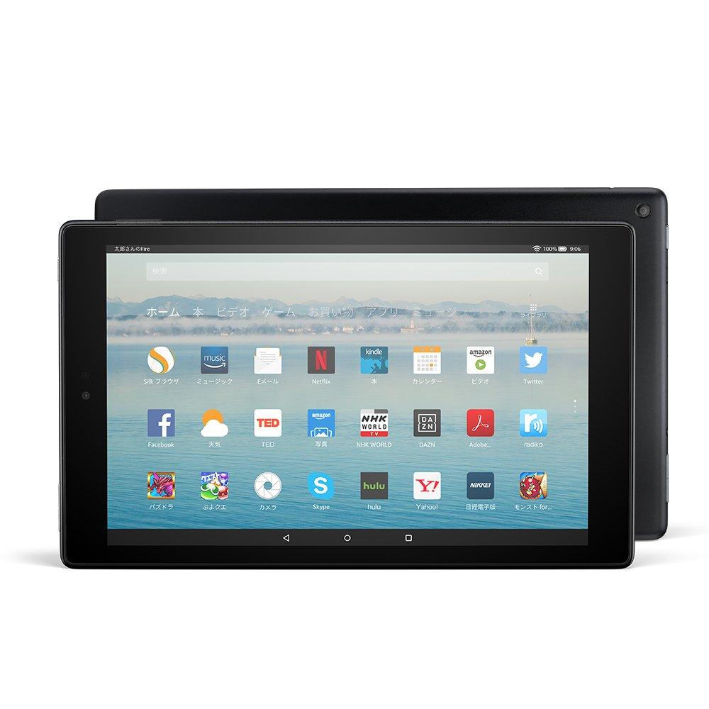 Fire HD 10 タブレット (Newモデル) 32GB、ブラック