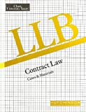 LLB Contract Law Casebook, Chart University tutors, 0091824168