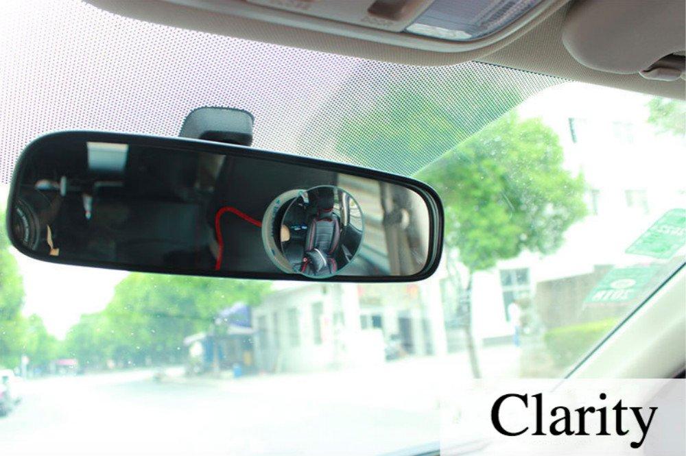 GENOVATION Blind Spot Spiegel, 360//° verstellbar Blind Spot Spiegel f/ür Einfahrten, Stick auf R/ückspiegel, konvexe Spiegel f/ür Auto, Van, Motorrad generic
