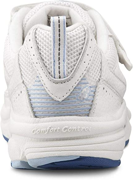 Victory White Diabetic Athletic Shoes