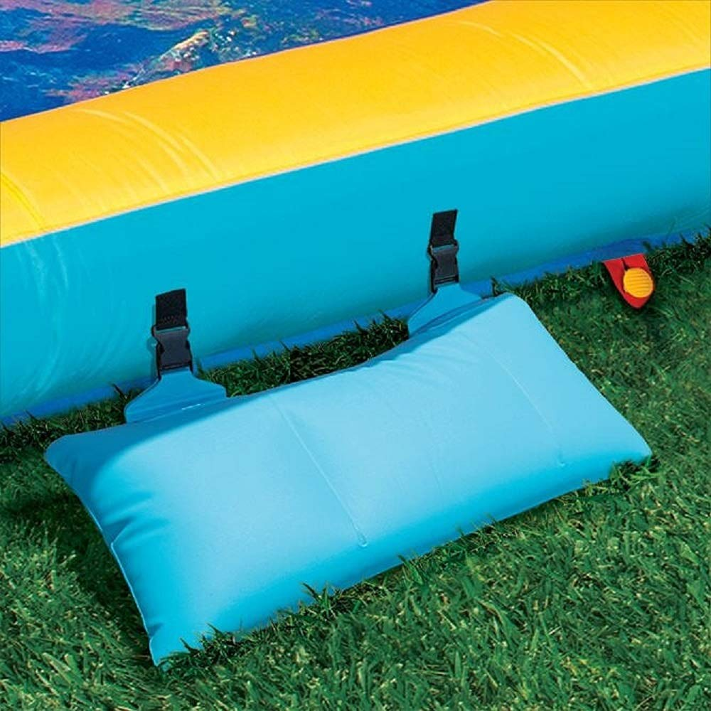 BANZAI 90330 Surf Rider Inflatable Backyard Outdoor Water Park with Blow Motor by BANZAI (Image #4)