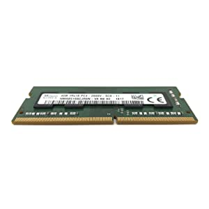 SK hynix HMA851S6CJR6N - VK Non ECC PC4-2666V 4GB DDR4 at 2666MHz 260pin SDRAM SODIMM Single Kit Laptop Memory - OEM (Tamaño: 4 Gb)