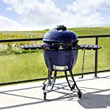 Pit Boss Ceramic BBQ Grill-Blue 662sq of Cooking Space.