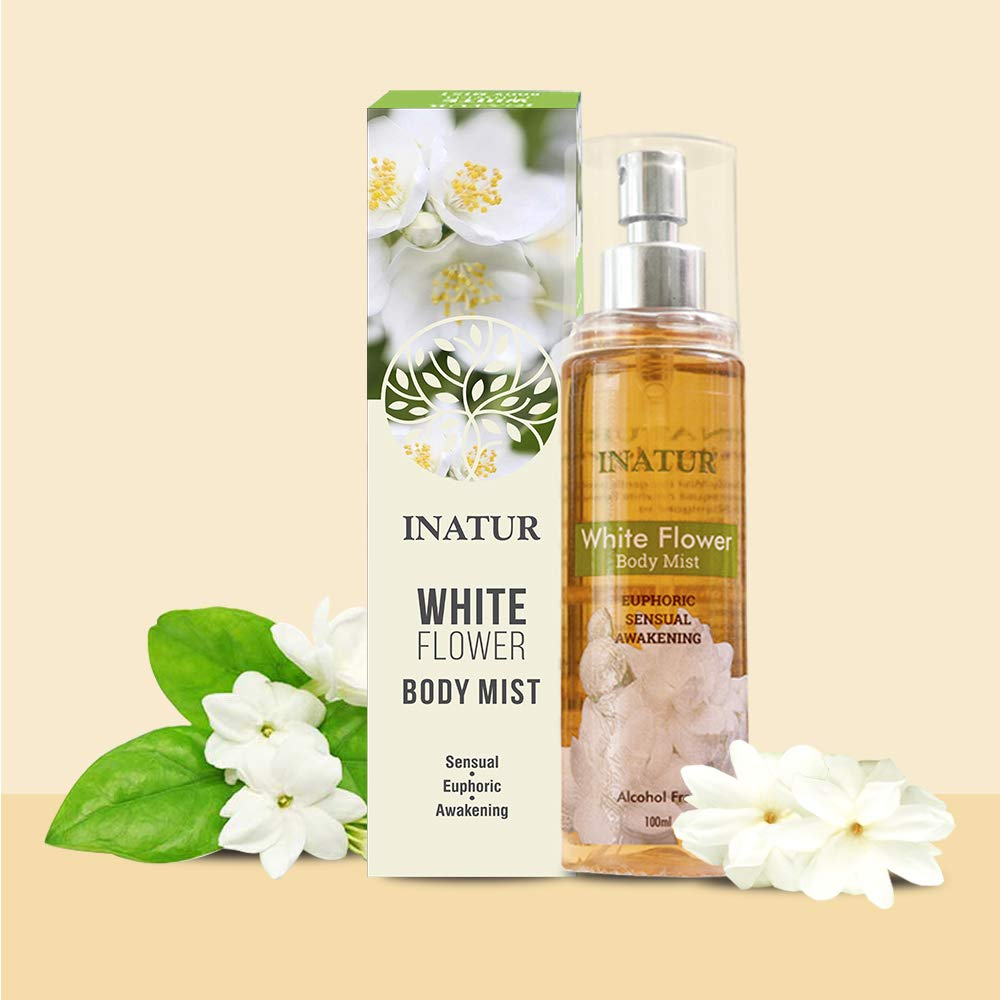 Amazon Inatur White Flower Body Mist Health Personal Care