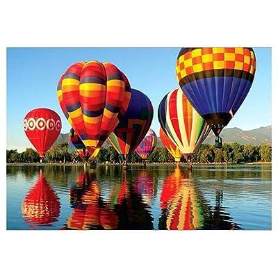 Hot Air Balloon Jigsaw Puzzles 1000 PCs: Toys & Games