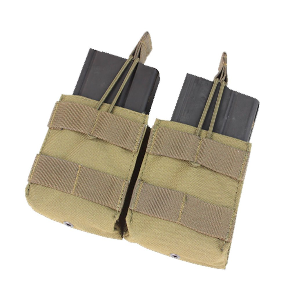CONDOR MA24-003 Double Open Top M14 Mag Pouch Coyote Tan