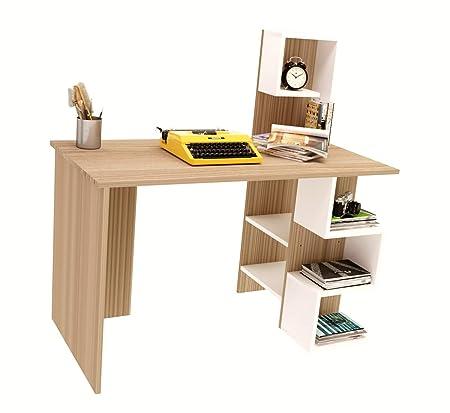 DERONI Escritorio - Escritorio Oficina - Puerta PC - Mesa para ...