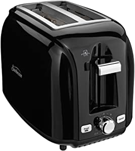 Sunbeam Black 2-Slice Toaster