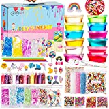 NEICY Slime Kit Slime Supplies, Slime Making Kit for Girls Boys Kids, Includes Clear Crystal Slime,...