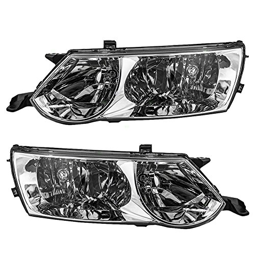 (Driver and Passenger Headlights Headlamps Replacement for Toyota 81150-AA050 81110-AA050 AutoAndArt)