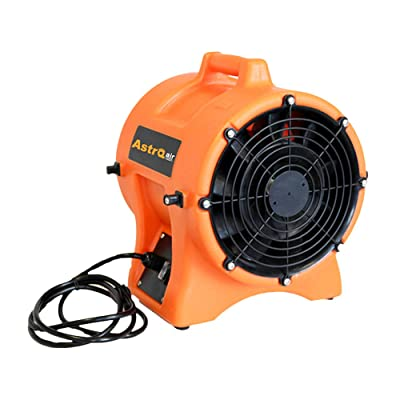 Astro Air 681-AC300 1/3 hp Home Cooling Portable Canister Attachable Air Blower: Home & Kitchen