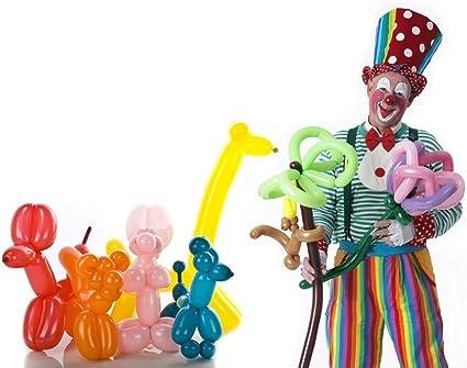 Globos de colores variados 100 piezas