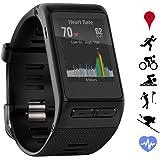 Garmin vivoactive HR GPS Smartwatch (010-01605-03) - Regular Fit - Black - (Certified Refurbished)