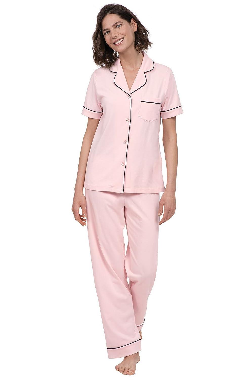 PajamaGram Pajama Set for Women - Pajamas for Women Cotton c1edea158