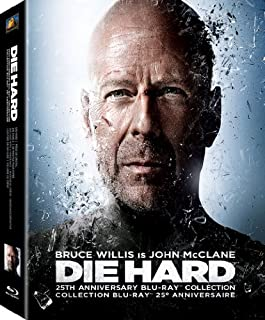 Die Hard 25th Anniversary Collection: Die Hard / Die Hard 2 / Die Hard with a Vengeance / Live Free or Die Hard + Bonus Disc [Blu-ray] (Bilingual) (B00A3V2KMW) | Amazon Products