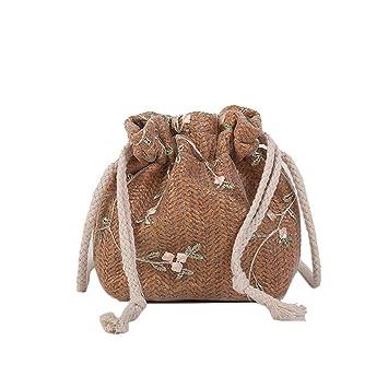 6e5b7b261732 Amazon.com: Women's Bucket Drawstring Crossbody Bag - Summer Small ...