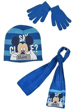 efcfabf4145ee Disney Mickey Mouse Say Cheese Bonnet Garçon: Amazon.fr: Vêtements ...