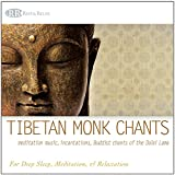 Best Yoga Music Cd - Tibetan Monk Chants: Meditation Music, Incantations, Buddist Chants of the Dalai Lama (Deep Sleep, Yoga, Quiet Time Prayer, and Relaxation) Review