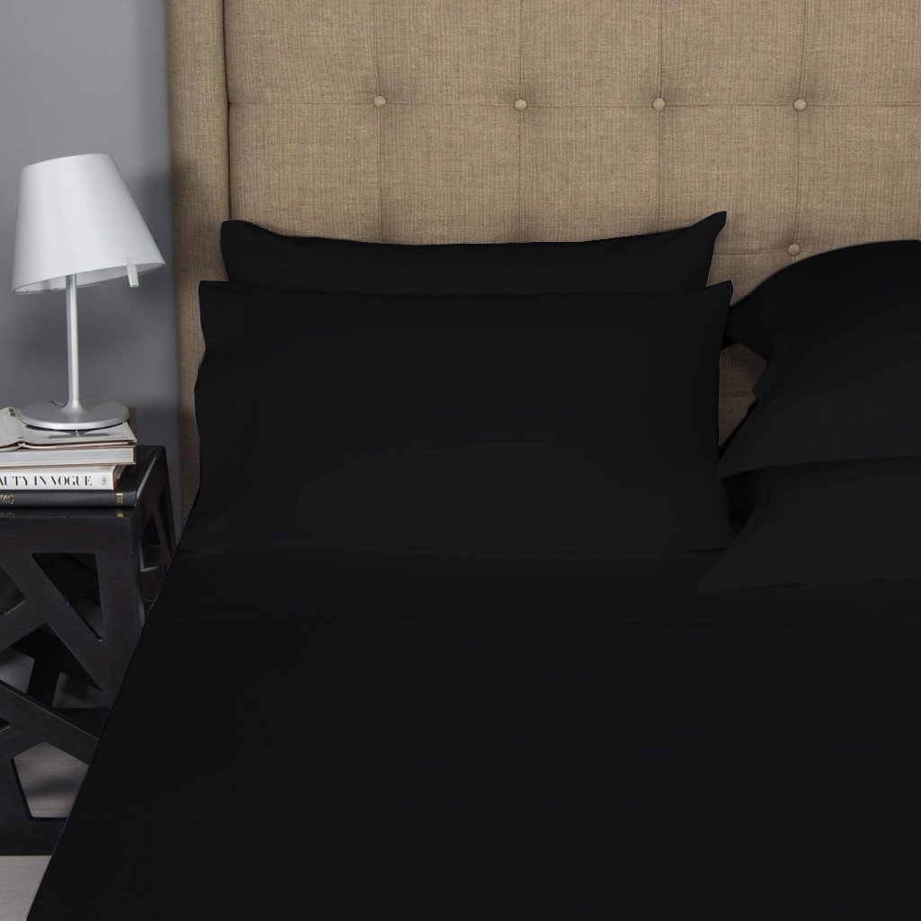 4-Piece Long-staple Combed Pure Cotton Best Sheets For Bed Breathable Soft /& Silky Sateen Weave Fits Mattress Upto 18 Deep Pocket Mayfair Linen 500 Thread Count 100/% Cotton Sheet Dark Grey Queen Sheets Set