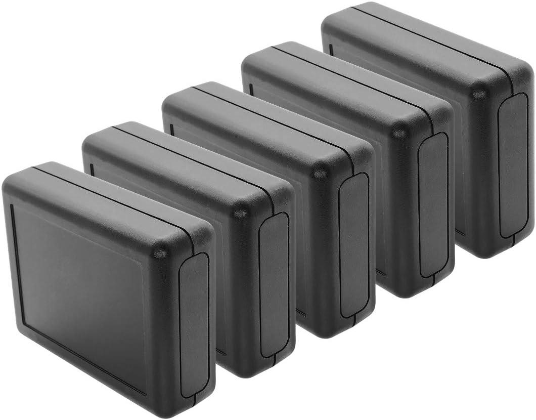 2pcs Black Plastic Project Power Protector Case Junction Box 55*39*27mm SM EPPZZ