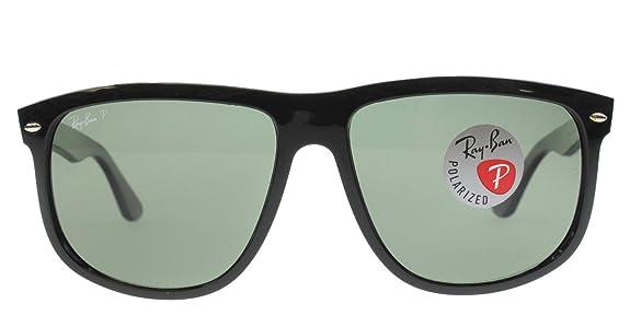 4c4f94124fe Amazon.com  Ray-Ban RB4147 601 58 60mm Polarized Sunglasses Shiny Black  Crystal  Green Made In Italy  Shoes