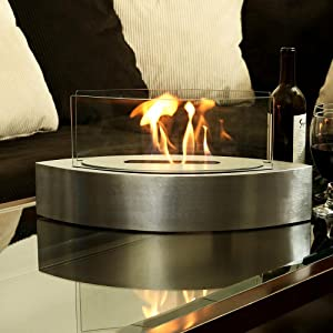 Sunnydaze Barco Tabletop Fireplace