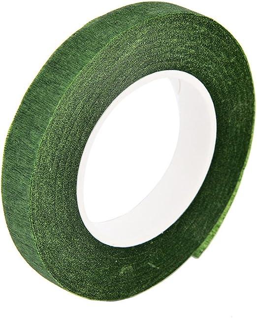 kentop verde floral Tape Cinta adhesiva de cinta adhesiva de papel floral Tape auto-adhesivos para Bouquets, Flowers Arrangements y Crafts: Amazon.es: Hogar