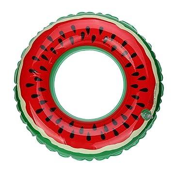 igemy caliente piscina inflable flotador adulto sandía fruta flotador