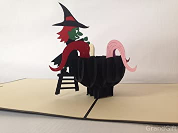 Witch brew 1st november 3d pop up cards custom greeting cards 3d witch brew 1st november 3d pop up cards custom greeting cards 3d easter halloween mothers fathers m4hsunfo