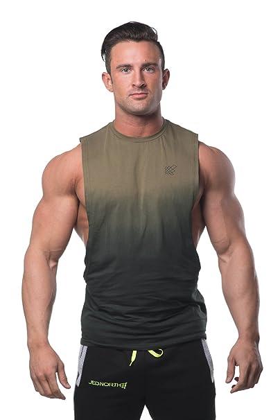 Muscle Camiseta de muscular corta Culturismo de entrenamiento de corte Stringer Tank Top joUg6q