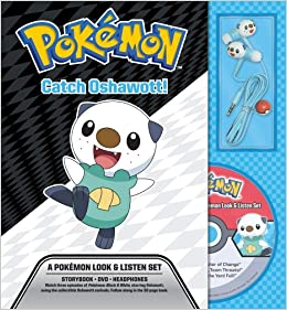 Amazon com: Catch Oshawott! A Pokémon Look & Listen Set (Pokemon