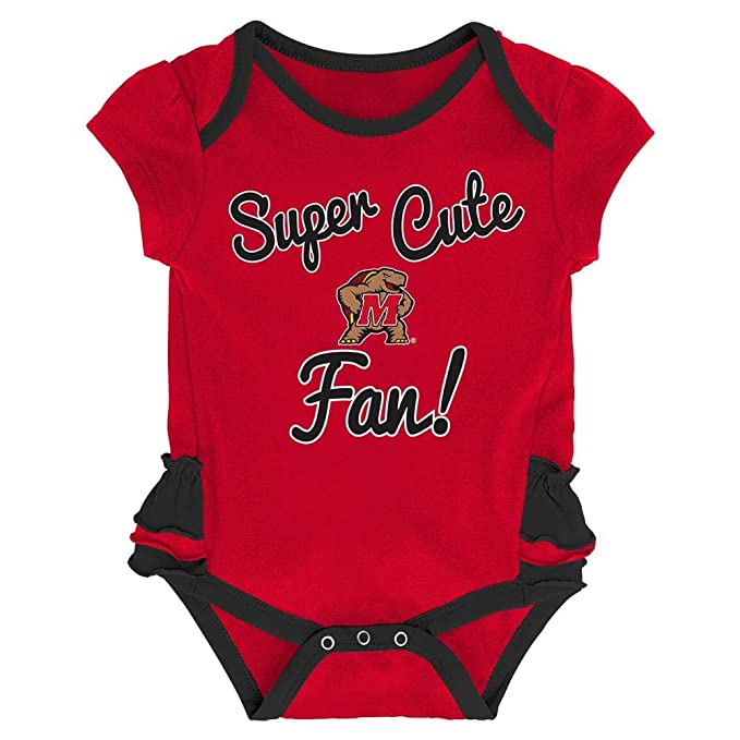 OuterStuff University of Wisconsin Badgers Creeper 2 Pack Homecoming Bodysuit Set