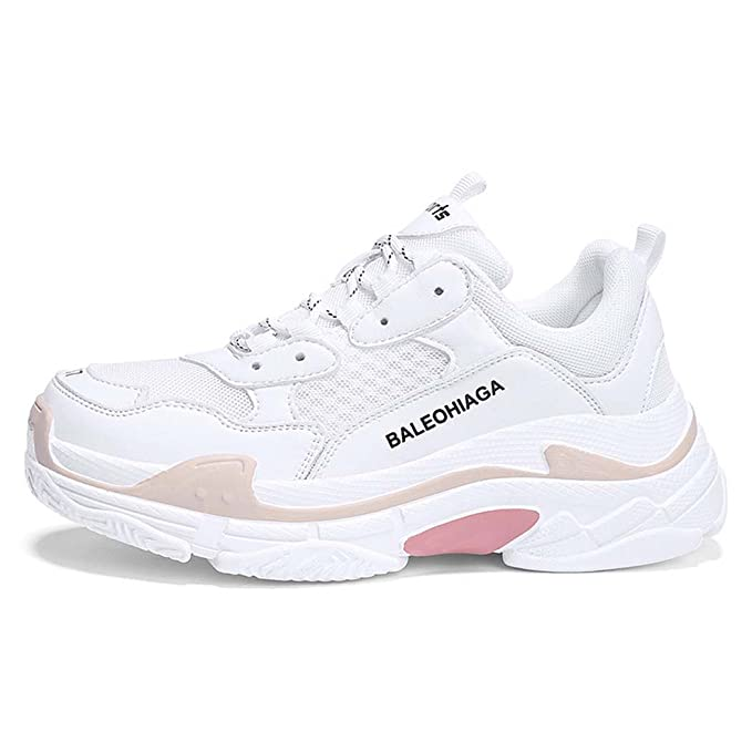 MISS&YG Zapatillas De Tenis Con Plataforma Para Hombre Y Mujer Zapatos De Senderismo Con Suela Gruesa: Amazon.es: Ropa y accesorios