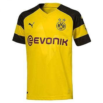 Puma BVB Home Camisetas de equipación, Hombre, Amarillo (Cyber Yellow), XL: Amazon.es: Deportes y aire libre