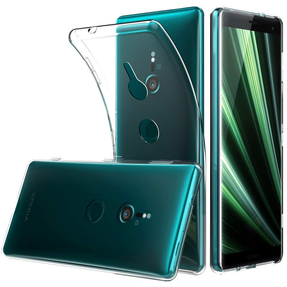Funda Sony Xperia XZ3 TPU Transparente Slim Silicona Case Cover ...