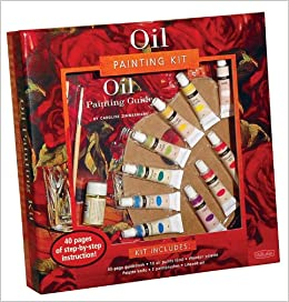Amazon Com Oil Painting Kit Professional Materials And