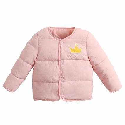 ffde686bd Amazon.com   NOMSOCR Toddler Baby Girls Winter Warm Cotton Padded ...