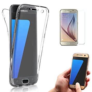 Samsung Galaxy J3 Funda, Bonice Case Protectora 360 Grados TPU ...