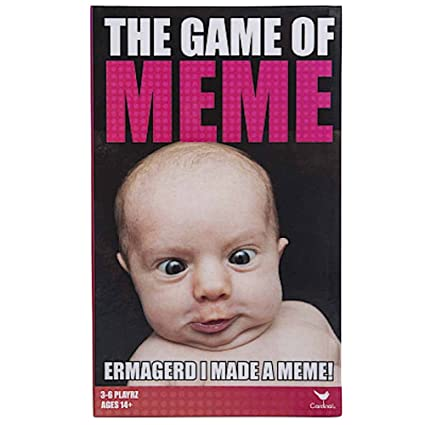 61l Rv%2BnrZL._SX425_ amazon com the game of meme adult fun card game toys & games