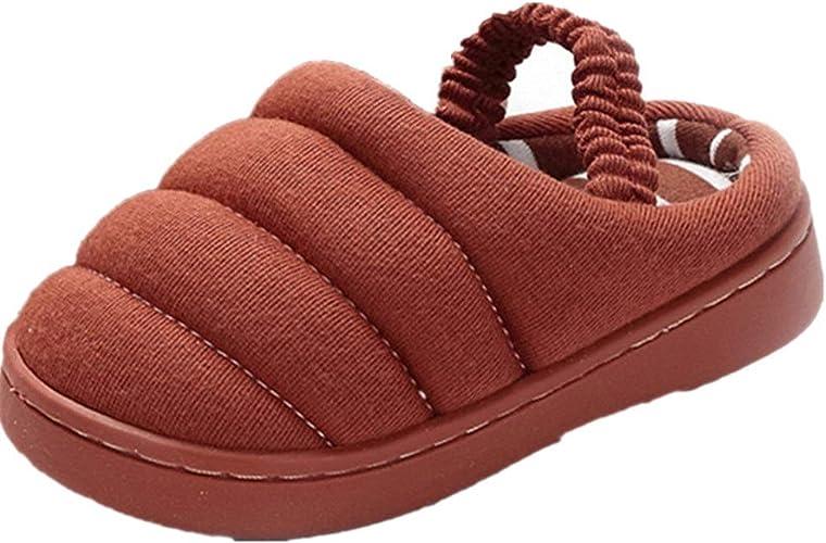 Childrens Indoor Shoes Kids Slip On Winter Caterpillar Slippers