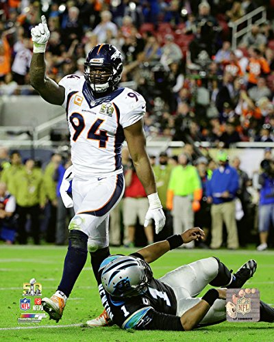 DeMarcus Ware - Super Bowl 50 NFL Photo (8x10)