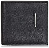 Piquadro Men's Wallet with Document Credit Card and Banknote Facility, Black, One Size