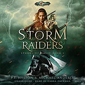 Storm Raiders: Age of Magic: A Kurtherian Gambit Series Audiobook