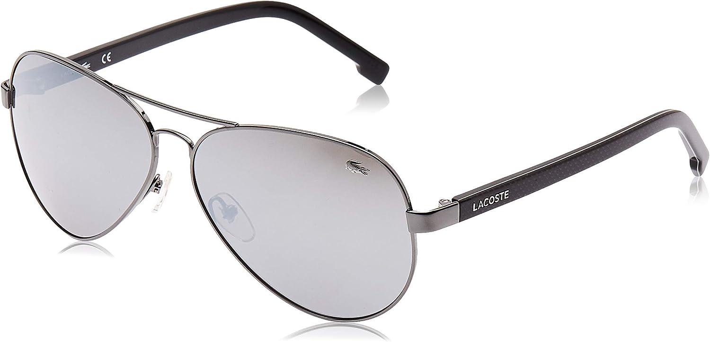 Lacoste L163S 033 62 Gafas de sol, Gunmetal, Hombre: Amazon.es: Ropa y accesorios