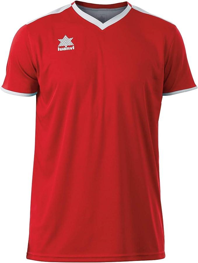 Luanvi Match Camiseta Deportiva de Manga Corta Hombre