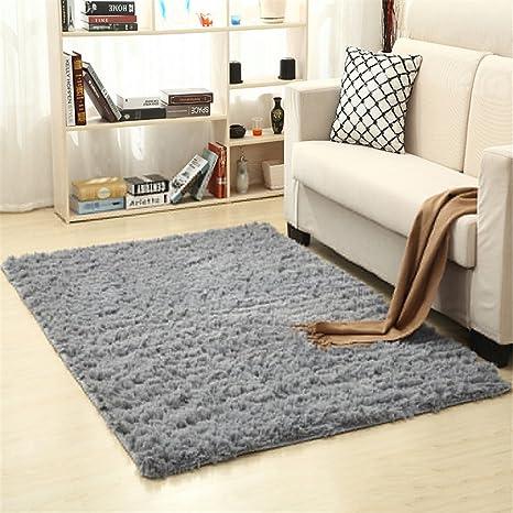 Ommda tappeti salotto pelo lungo moderni quadrati tappeti lavabili ...