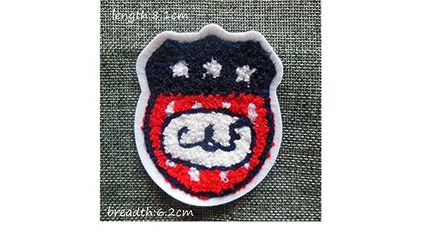 fairyteller seleccione toalla de letra para coser bordado de tela parches para ropa DIY accesorios Sew On apliques c282-c366: Amazon.es: Juguetes y juegos