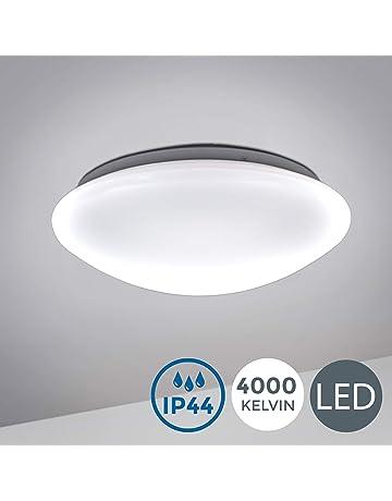 DEL plafonnier chambre lampe ip44 de salle d/'eau Détecteur mvt Capteur 12 W 30 W