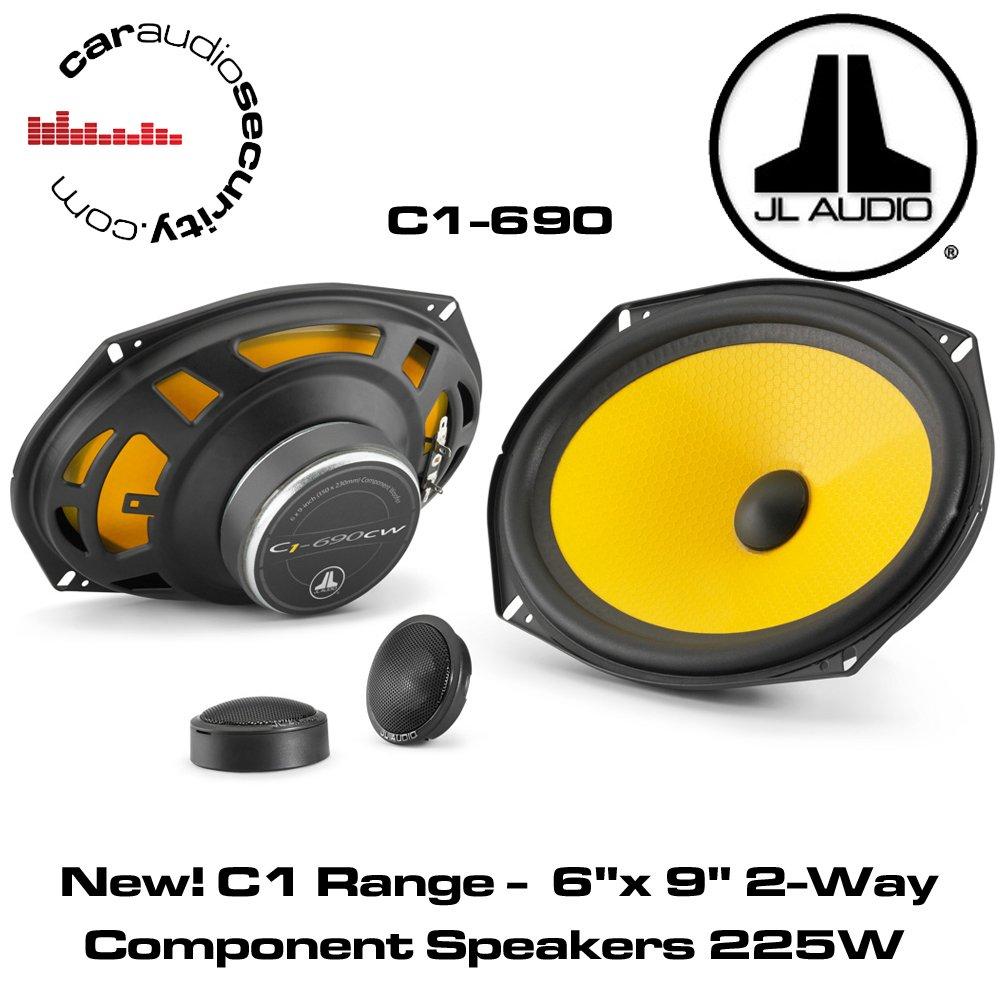 JL Audio C1-690 6 X 9 2-Way Component Car Audio Speakers