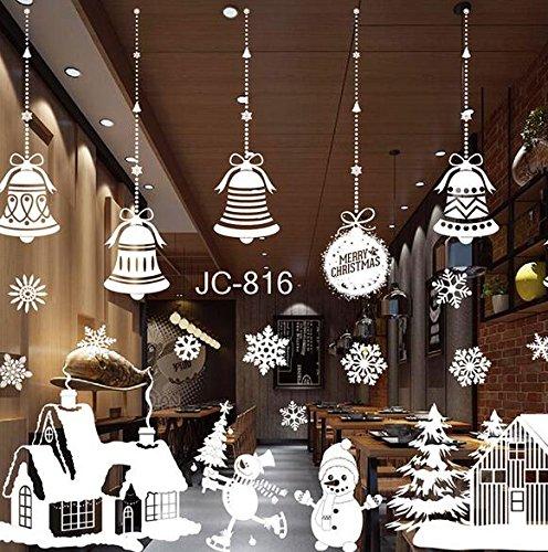 J*myi Etiqueta engomada estática del ornamento de la Navidad ...
